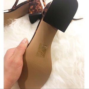 ASOS Shoes - Asos Tortoishell Patent Strap Heels